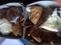 Ayam goreng kampung kremes