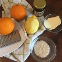 Bahan-bahan orange sauce (Suzette)