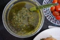 pesto as spread on toast